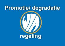 Promotie/ degradatie regeling